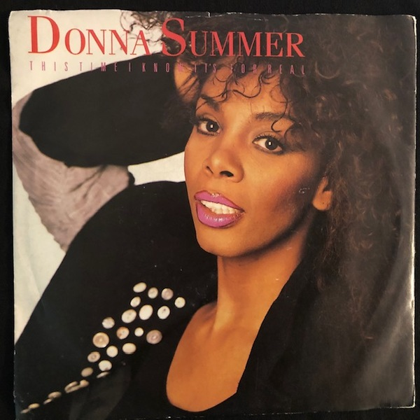 Donna Summer ‎– This Time I Know It's For Real