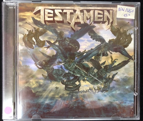 Testament ‎– The Formation Of Damnation