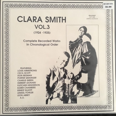 Clara Smith ‎– Vol. 3 (1924-1925) Complete Recorded Works In Chronological Order