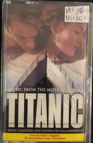 James Horner ‎– Titanic (Music From The Motion Picture)