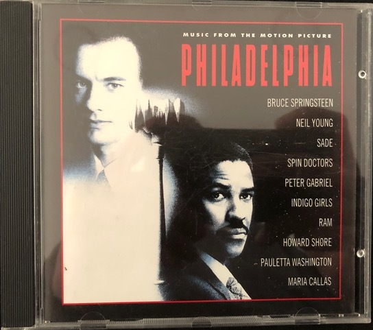 Various ‎– Philadelphia (Music From The Motion Picture)