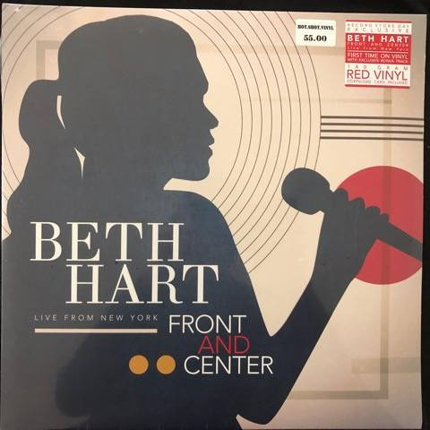 Beth Hart ‎– Front And Center (Live From New York)