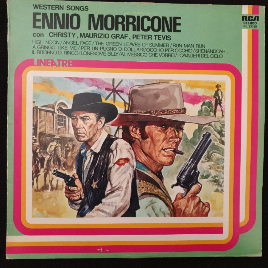 Ennio Morricone Con Christy - Maurizio Graf - Peter Tevis ‎– Western Songs