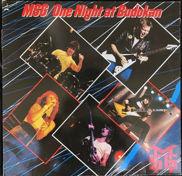 The Michael Shenker Group MSG ‎– One Night At Budokan