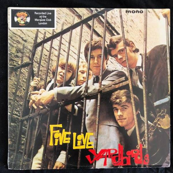 Yardbirds ‎– Five Live Yardbirds