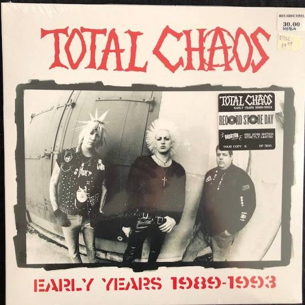 Total Chaos ‎– Early Years 1989-1993