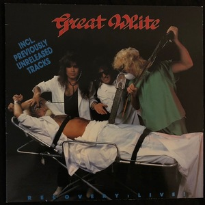 Great White ‎– Recovery: Live!