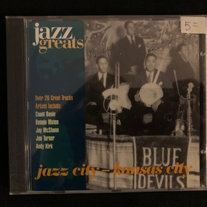 Various ‎– Jazz City - Kansas City