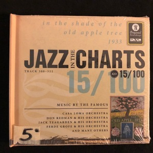 Various ‎– Jazz In The Charts 15/100 (Track 300-322) (In The Shade Of The Old Apple Tree 1933)