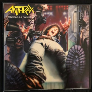Anthrax ‎– Spreading The Disease