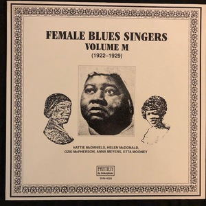 Various ‎– Female Blues Singers Volume M (1922-1929)