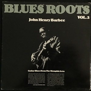 John Henry Barbee ‎– Guitar Blues From The Memphis Area