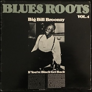 Big Bill Broonzy ‎– If You're Black Get Back