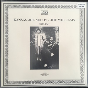 Kansas Joe McCoy - Joe Williams ‎– (1929-1941)