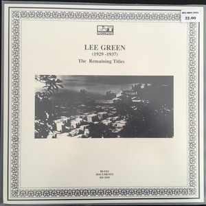 Lee Green ‎– (1929-1937) The Remaining Titles