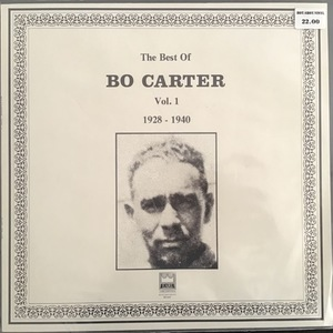 Bo Carter ‎– The Best Of Bo Carter Vol.1 1928-1940