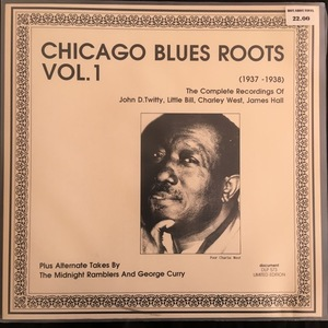 Various ‎– Chicago Blues Roots Vol. 1 (1937-1938)