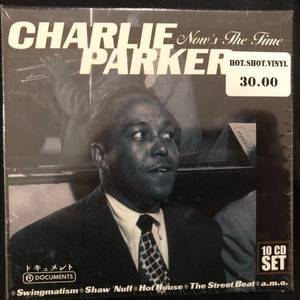 Charlie Parker ‎– Now's The Time - 10CD Box Set