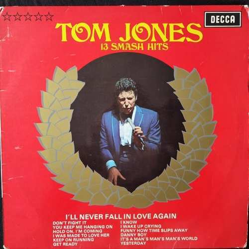 Tom Jones ‎– 13 Smash Hits
