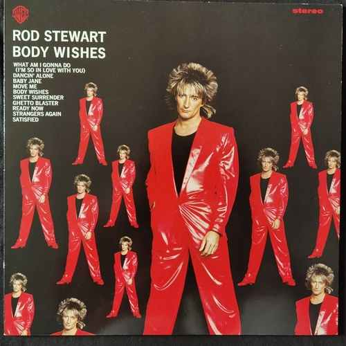 Rod Stewart ‎– Body Wishes