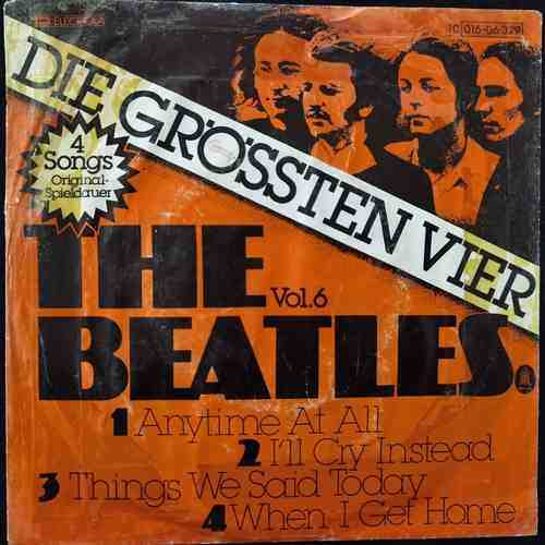 The Beatles ‎– Die Grössten Vier Vol.5