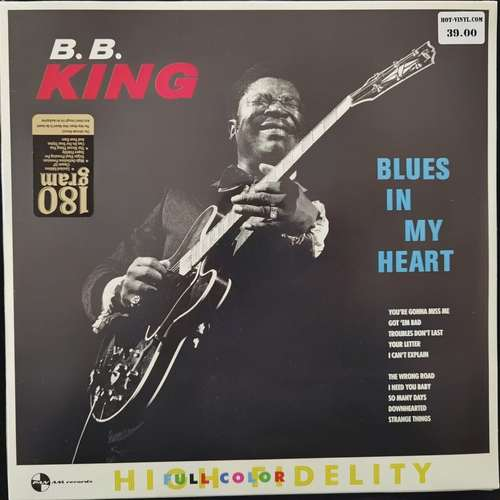 B.B. King ‎– Blues In My Heart