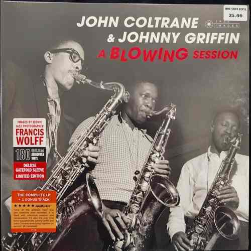 John Coltrane And Johnny Griffin ‎– A Blowing Session