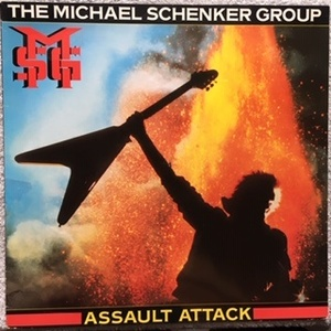 The Michael Schenker Group ‎MSG – Assault Attack