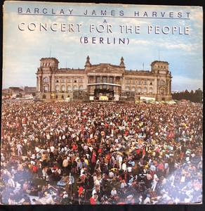 Barclay James Harvest ‎– A Concert For The People (Berlin)