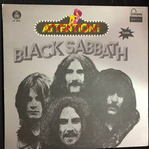 Black Sabbath ‎– Attention! Black Sabbath!