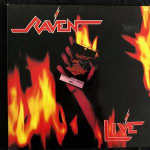 Raven ‎– Live At The Inferno